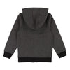 Boss Dark Gray Blue Zip Up Cardigan-Outerwear-BOSS-kids atelier