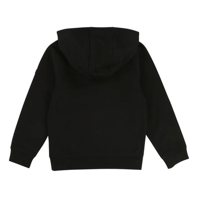 Boss Black Lime Green Logo Hoodie-Sweaters-BOSS-kids atelier