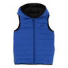 Boss Blue Black Reversible Puffer Vest-Outerwear-BOSS-kids atelier