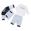 BOSS LIGHT BLUE NAVY TRACK SUIT SET-Outfits-BOSS-kids atelier