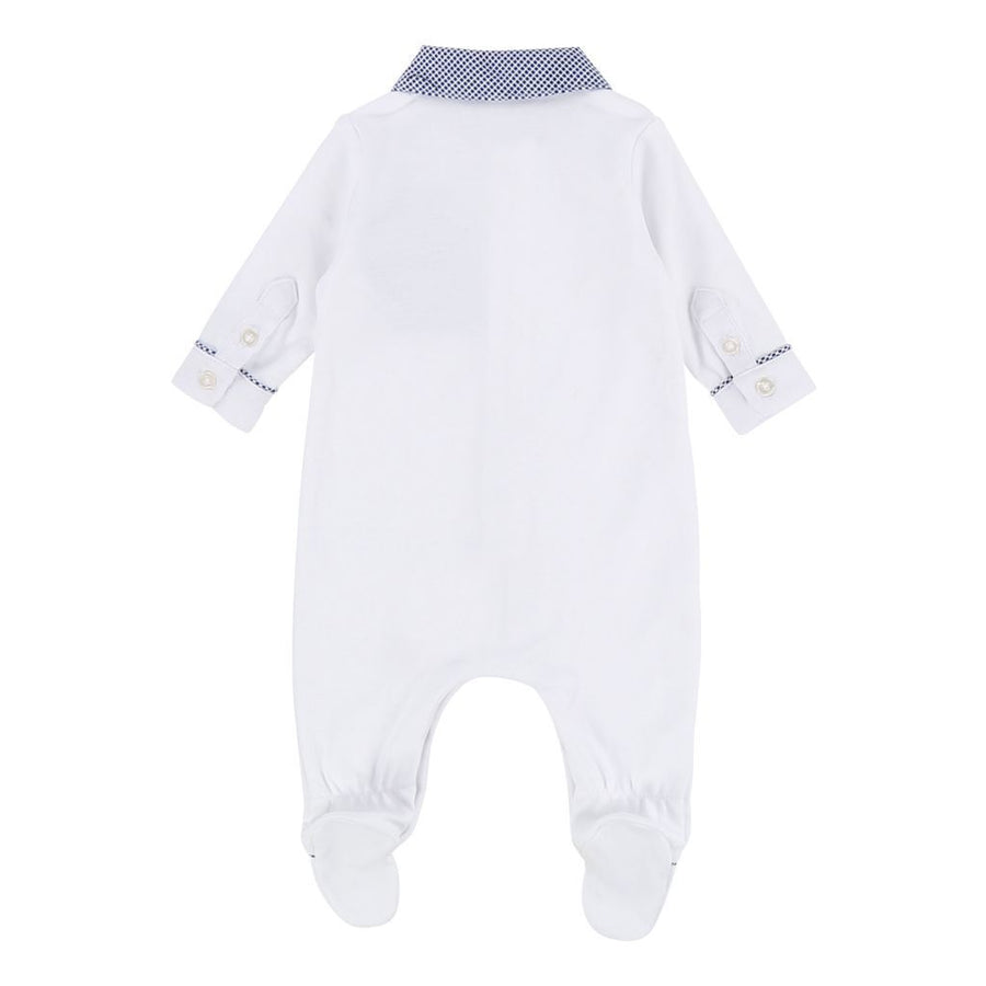 Boss White Pajama & Pull On Hat Set-Outfits-BOSS-kids atelier