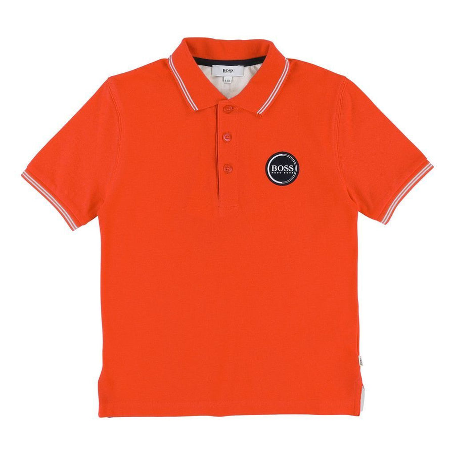 BOSS-J25C79-42B-SHORT SLEEVE POLO