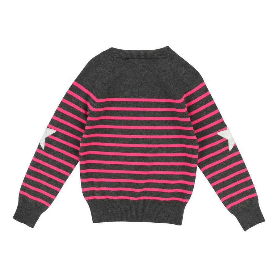 Zadig & Voltaire Gray Striped Sweater