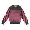 Zadig&Voltaire Gray Striped Sweater