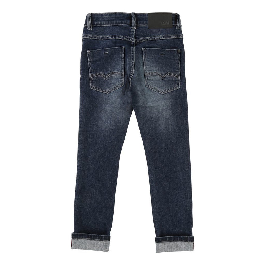 BOSS-DENIM TROUSERS-J24472-Z25