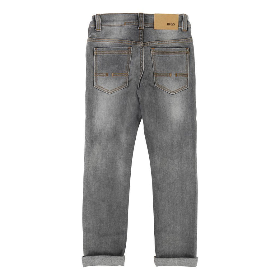 BOSS-DENIM TROUSERS-J24466-Z20