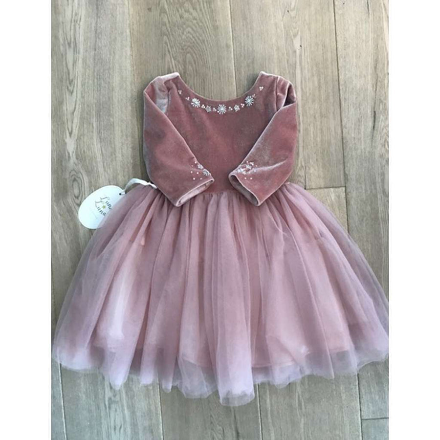 BERNADETTE MAUVE DRESS