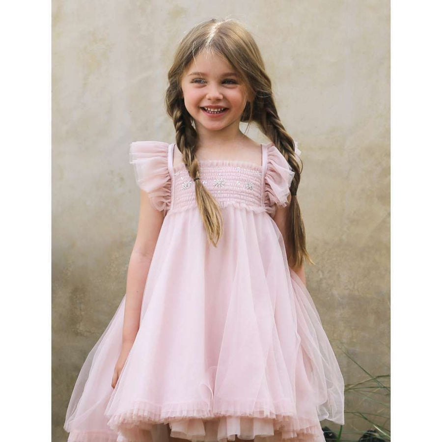 LUNA LUNA FAITH ROSE GOLD DRESS