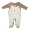 MILKTOLOGY BROWN FROG PRINCE FOOTIE
