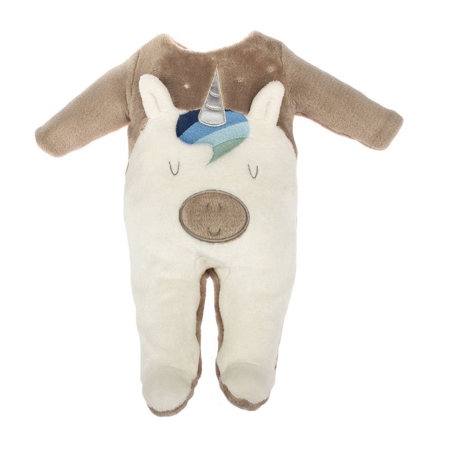 MILKTOLOGY BROWN UNICORN FOOTIE