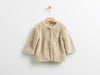 YELLOWSUB BEIGE FUR COAT