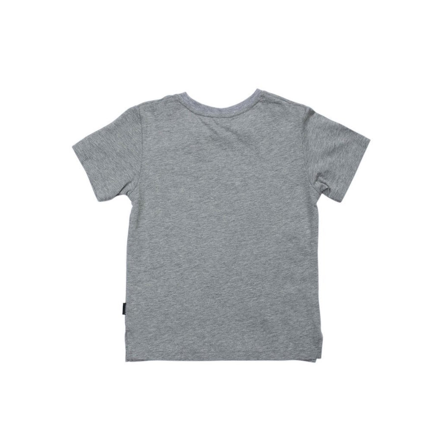 SUPERISM GRAY SIR SHORT SLEEVE T-SHIRT