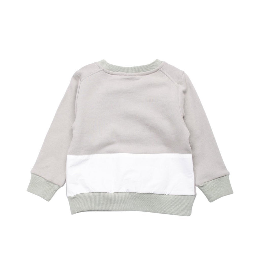 Superism Gray Kayden Fleece Sweater