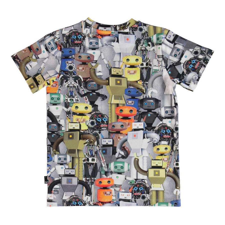 MOLO GRAY ROBOTS TAKE OVER T-SHIRT