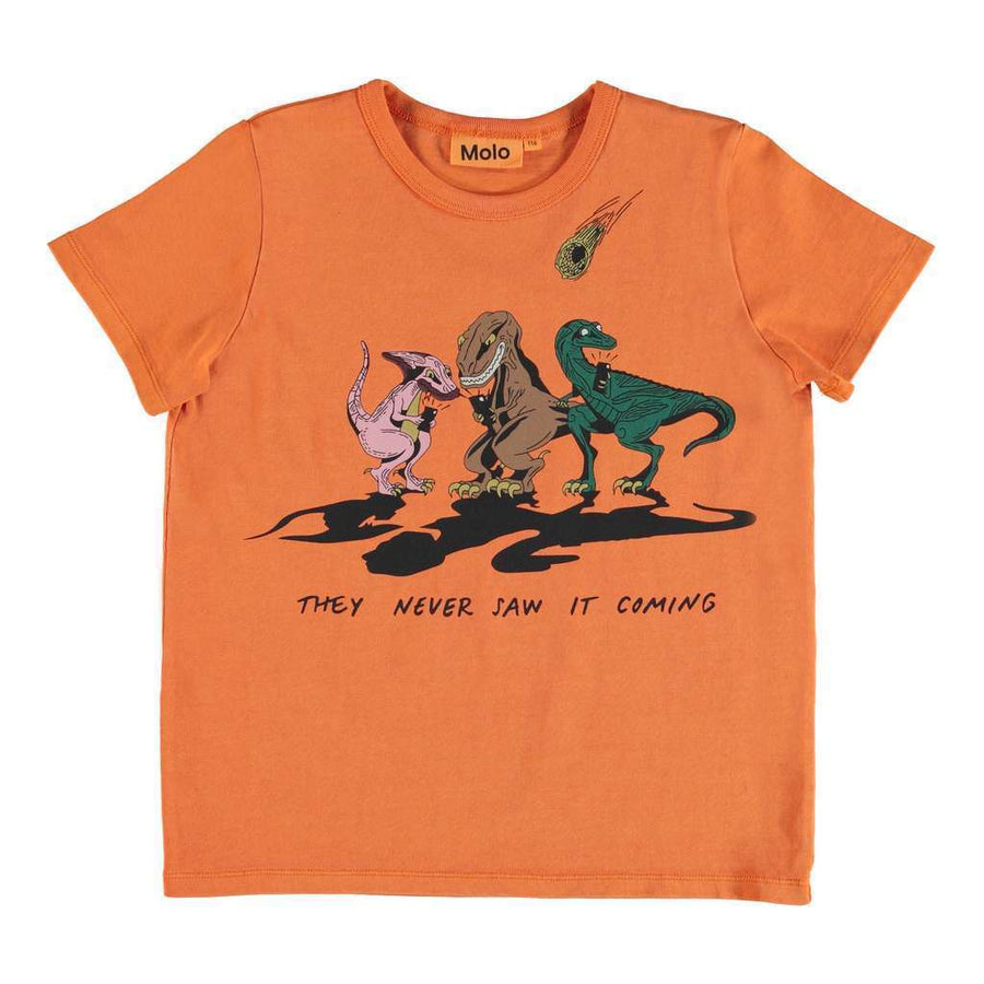 MOLO ORANGE Raddix T-SHIRT