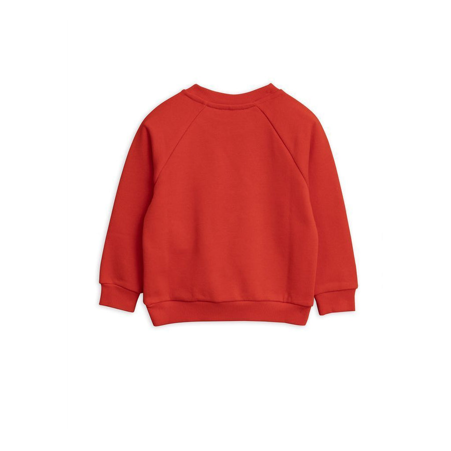 MINI RODINI RED BANANA SWEATSHIRT