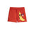 MINI RODINI RED BANANA SWEAT SHORTS
