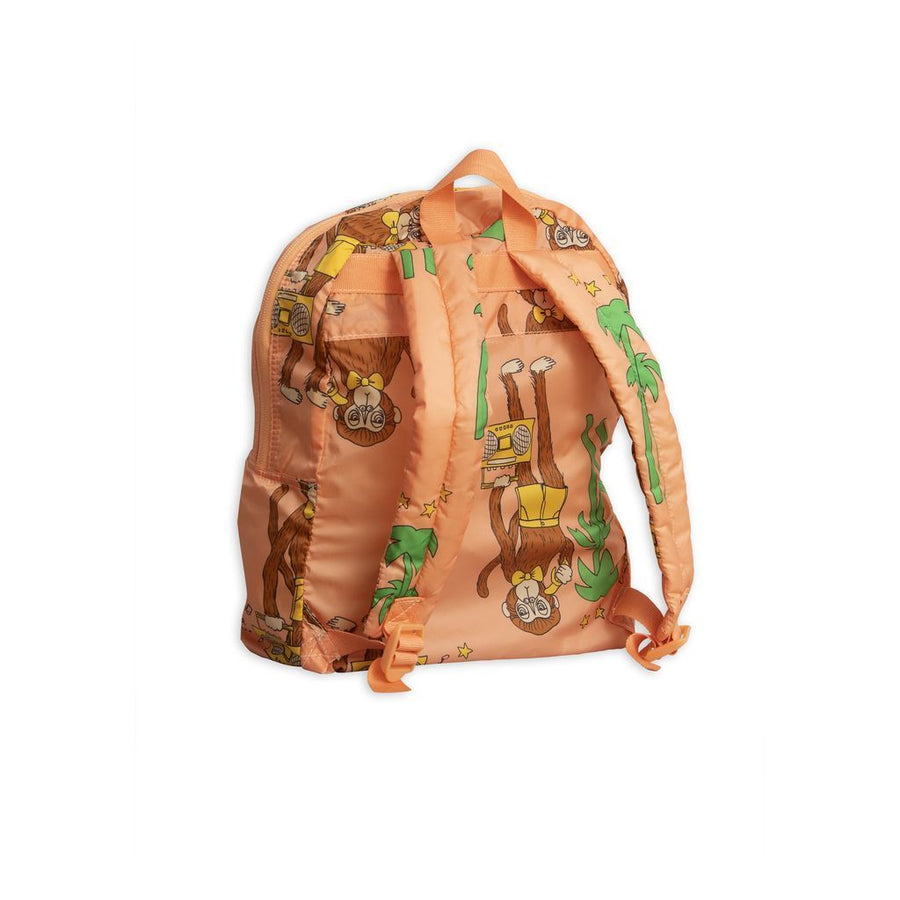 MINI RODINI PINK COOL MONKEY BACKPACK