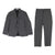 Gray Jacket + Trousers Set