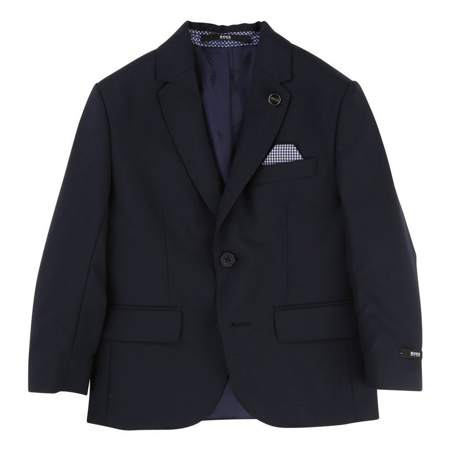 Boss Navy Suit Jacket