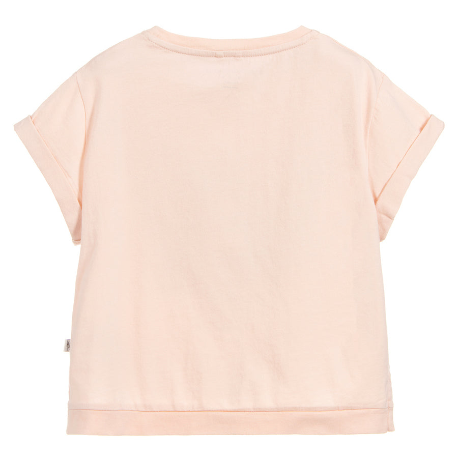 Stella McCartney Pink Palm Leaf T-shirt
