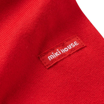 MIKI HOUSE RED CARS LONG SLEEVE T-SHIRT