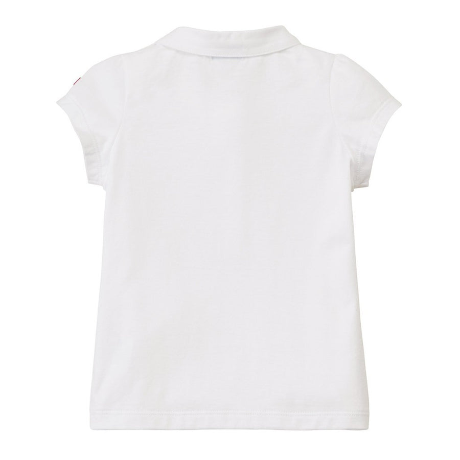 MIKI HOUSE WHITE BUNNY BLOUSE