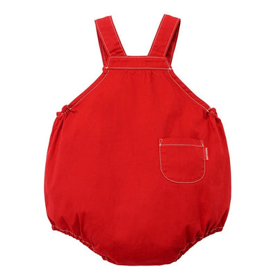 MIKI HOUSE RED ROMPER