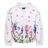 Monnalisa White Rose Petal Jacket