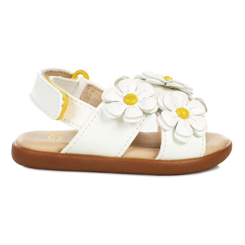 f9bc64baca8 UGG WHITE BABY ALLAIREY SANDAL