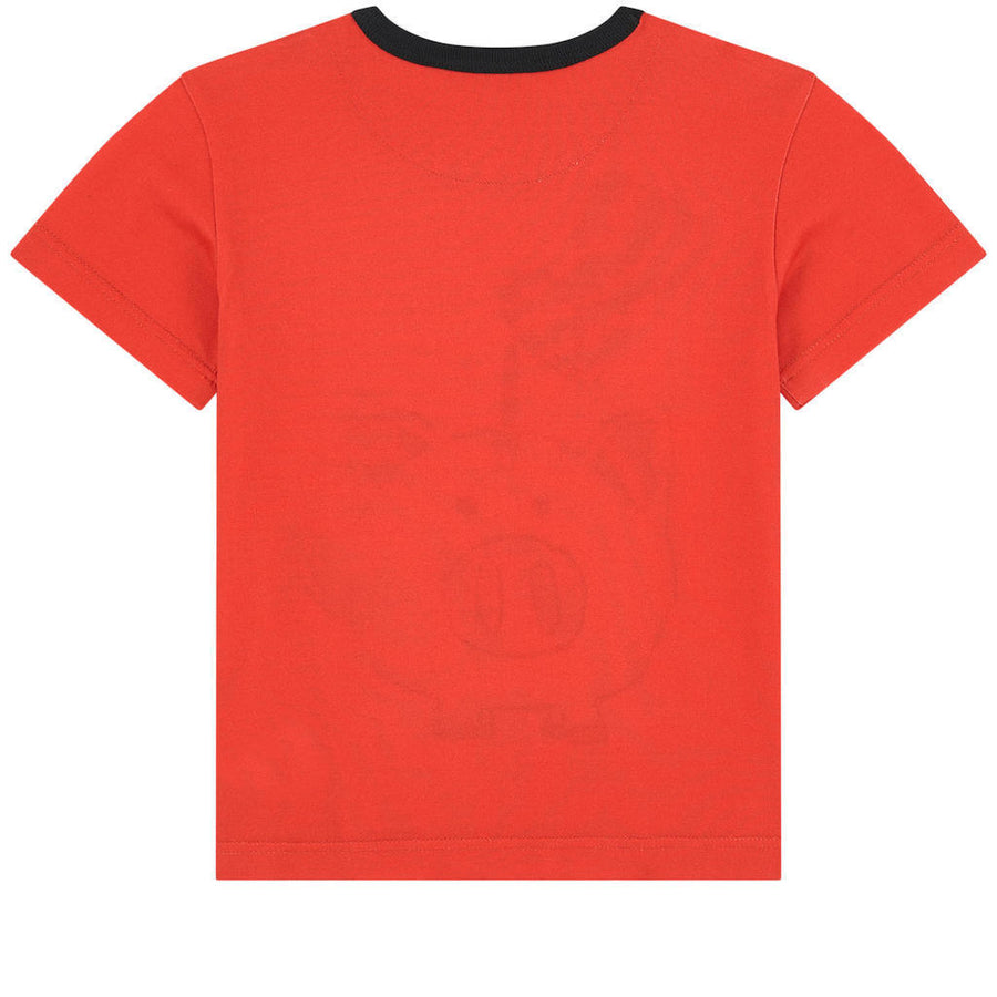 DOLCE & GABBANA RED PIGGY BANK T-SHIRT