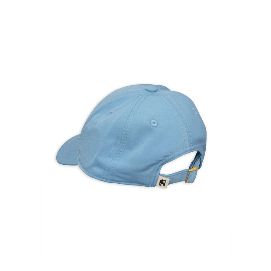 MINI RODINI LIGHT BLUE BANANA TRUCKER CAP