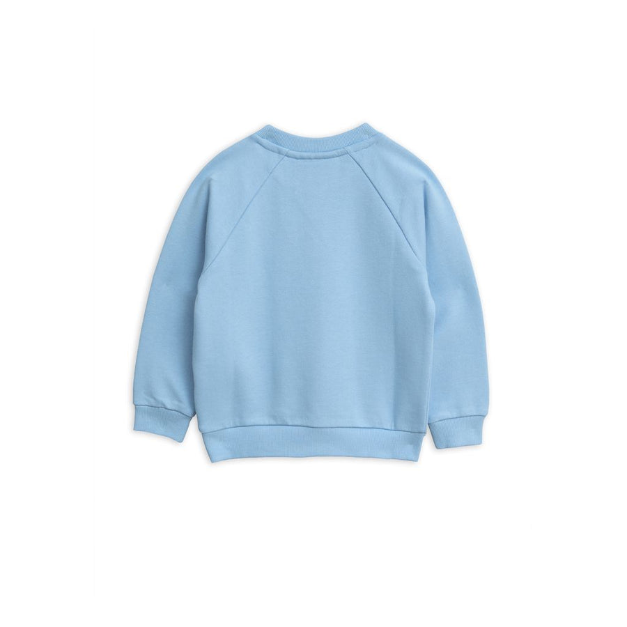 MINI RODINI LIGHT BLUE BANANA SWEATSHIRT
