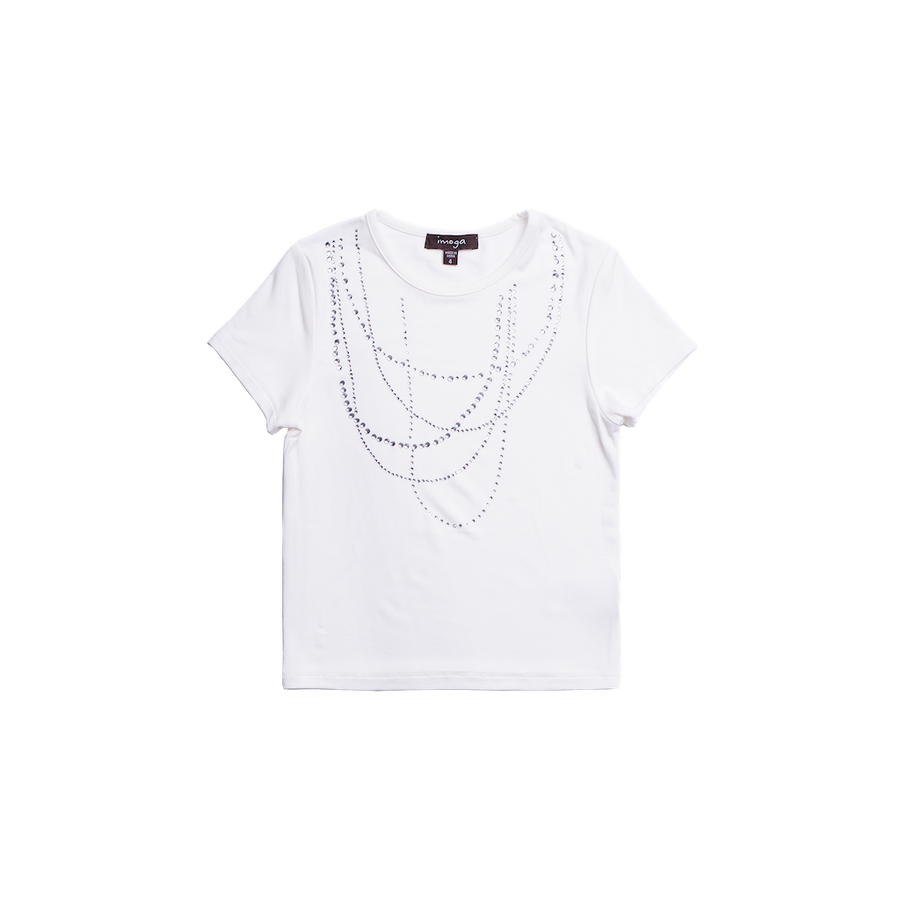 IMOGA JEWEL CREAM AMITA T-SHIRT