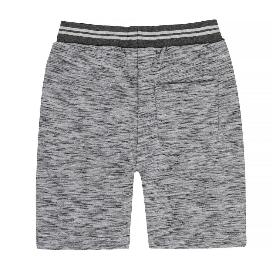 DARK GRAY FRENCH TERRY BERMUDA SHORTS