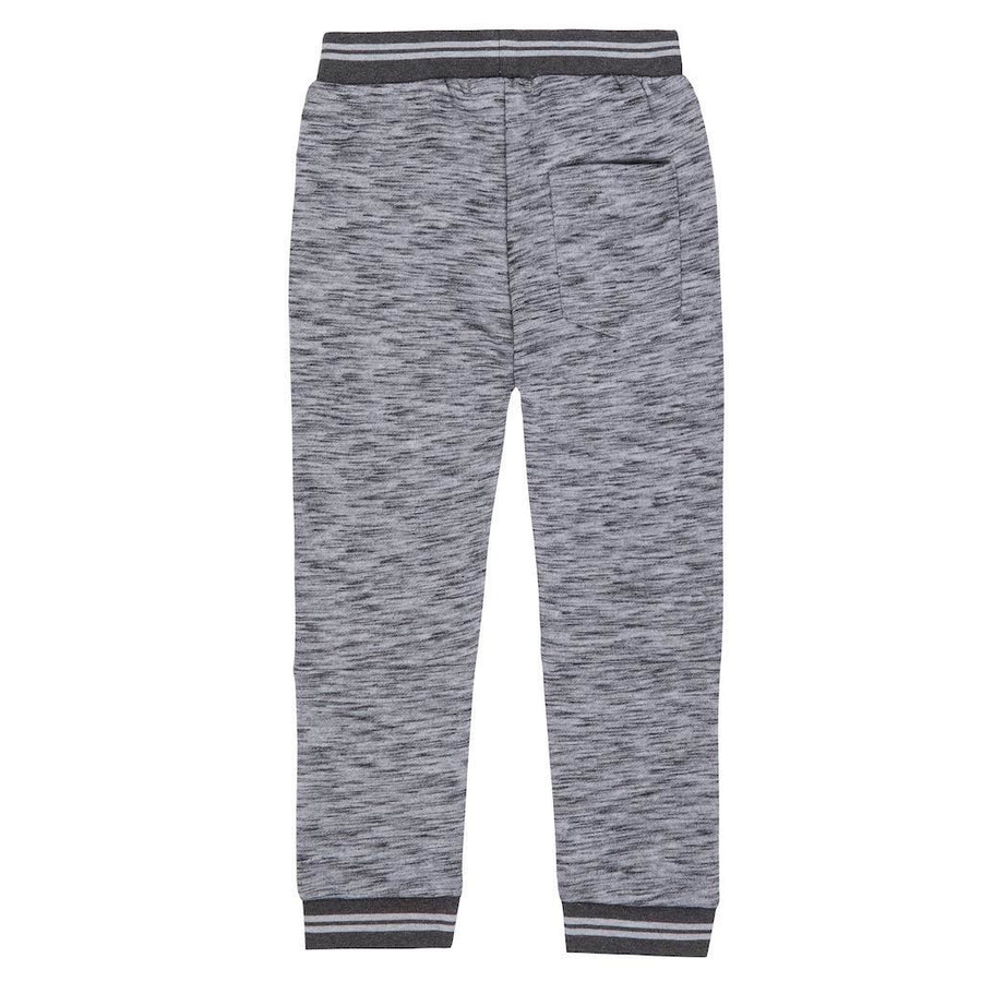 Deux Par Deux Medium Grey Mix French Terry Pant-a30u24-196-