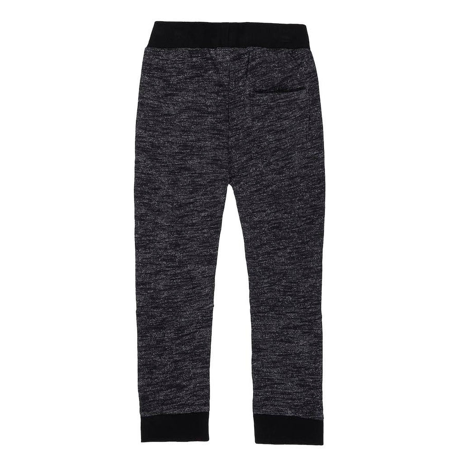 Deux Par Deux Anthracite French Terry Pant a30u24-999-