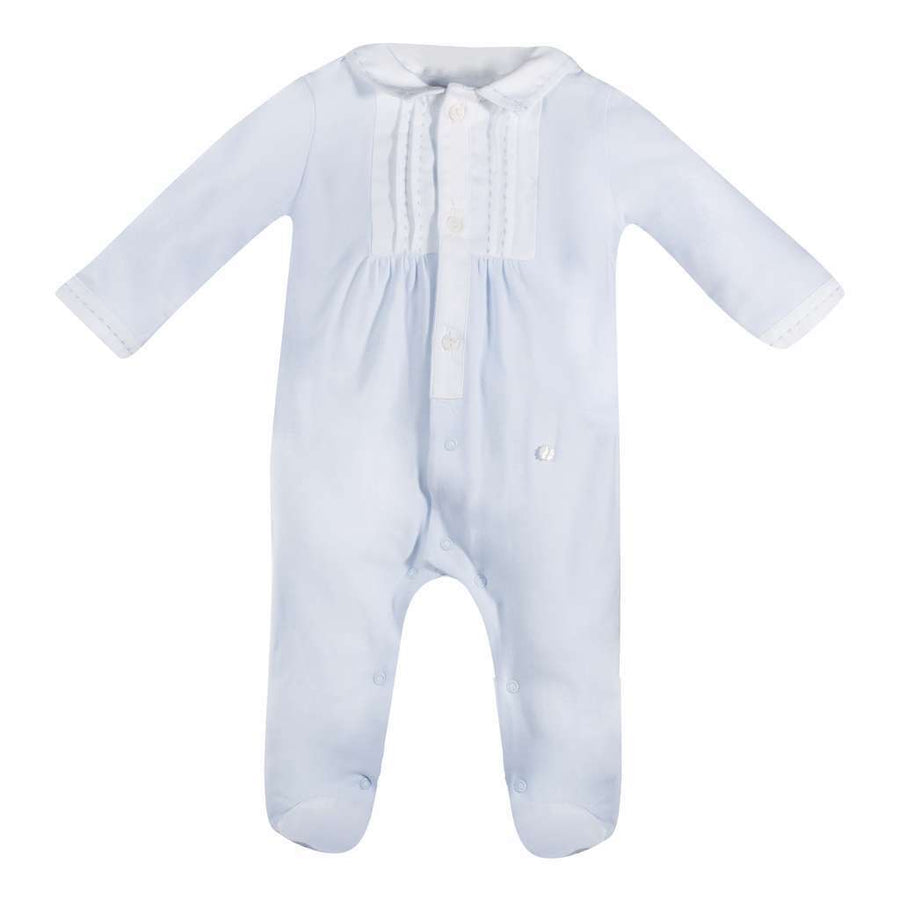 Patachou Blue Baby Boy Playsuit