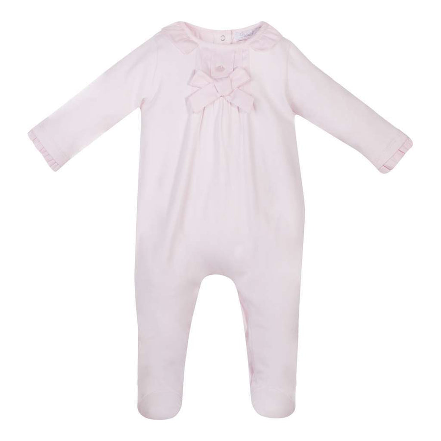 Patachou Pink Baby Girl Paysuit