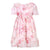Patachou Pink Botanical Flowers Dress
