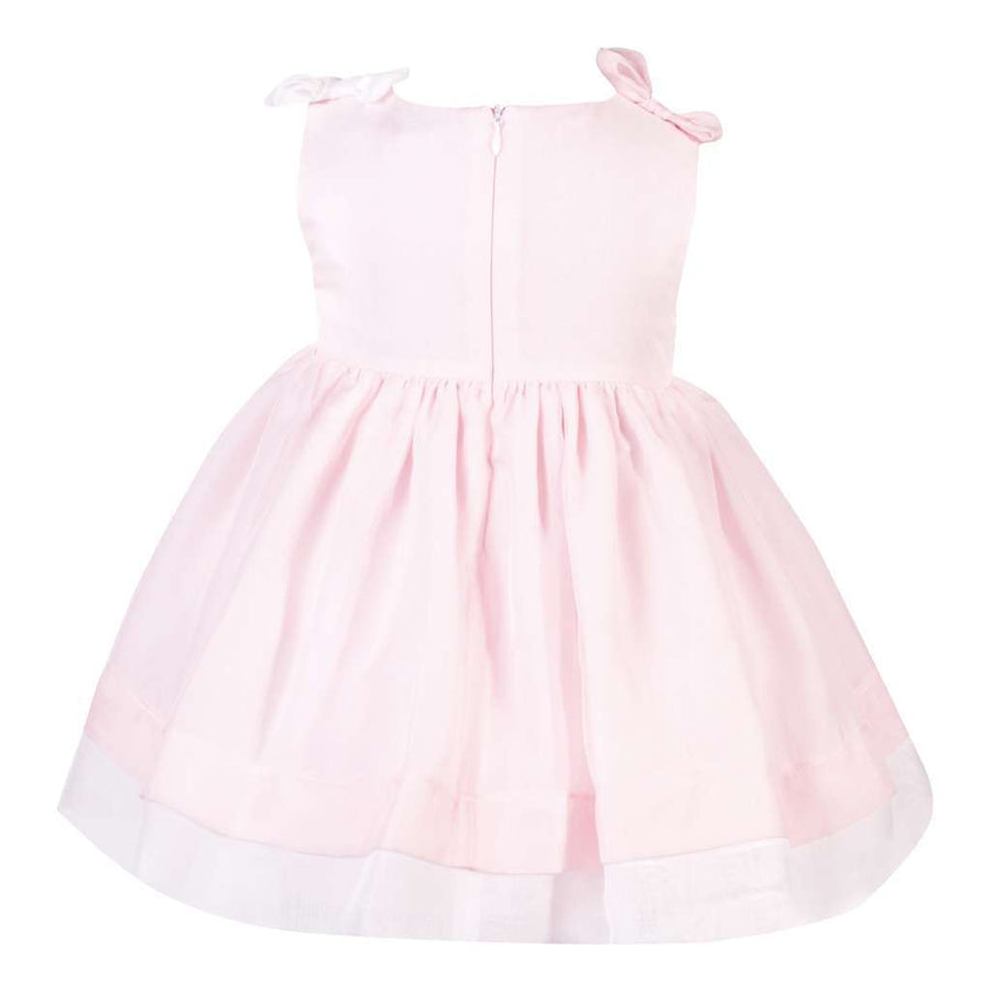 Patachou Pale Pink Bow Dress