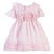 Patachou Pale Pink Flower Ruffles Dress