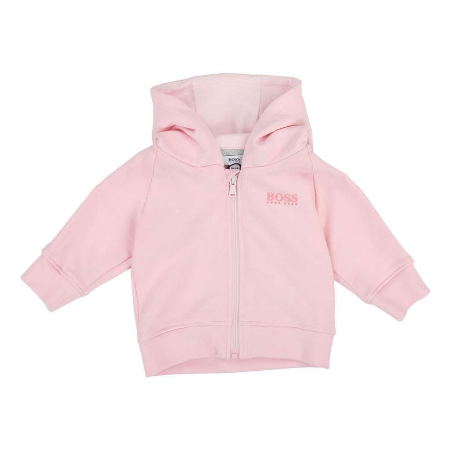 Boss Pink Pale Track Suit