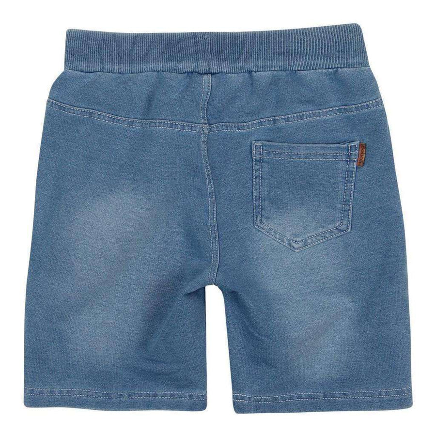 Bleach Fleece Bermuda Denim Shorts