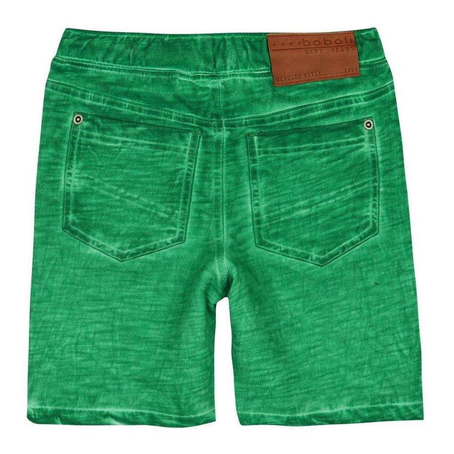 Jade Fleece Bermuda Flame Shorts