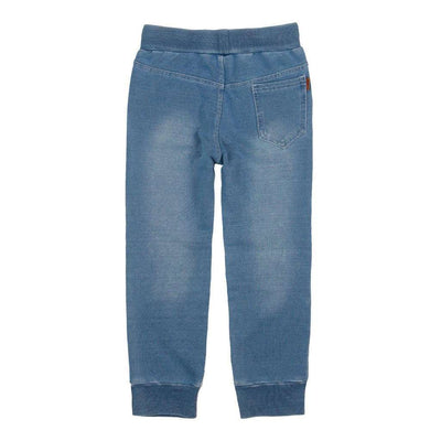 Bleach Fleece Denim Trousers