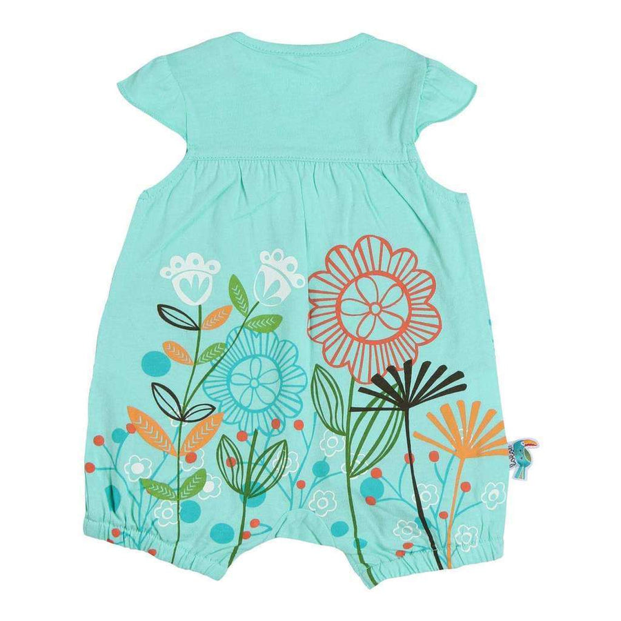 Boboli Lake Knit Play Suit