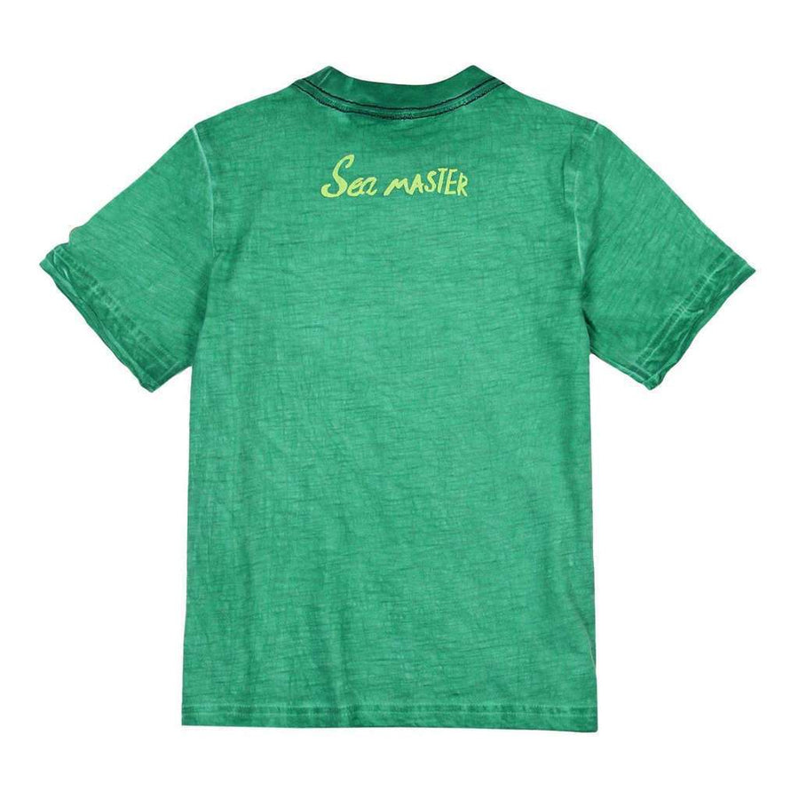 Jade Flame Knit T-Shirt