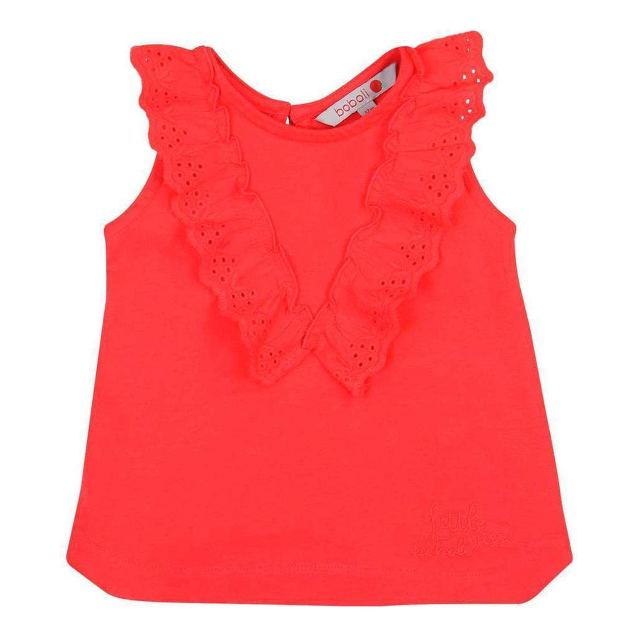 a4ffc8f0a Boboli-Knit t-Shirt for baby girl-227089-3620 red