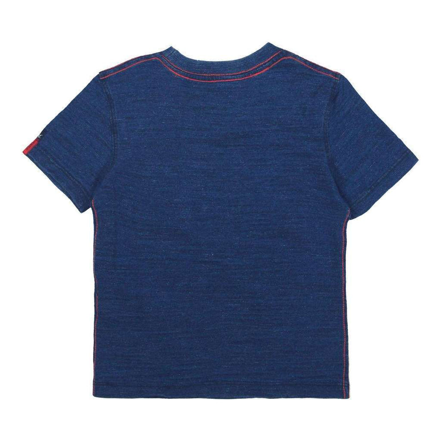 Blue Knit T-Shirt